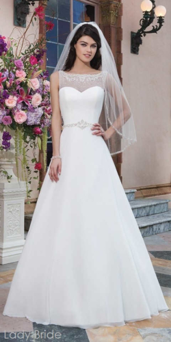791 - Sincerity Bridal 3827, 170cm, r36-38, 1600zł, ivory