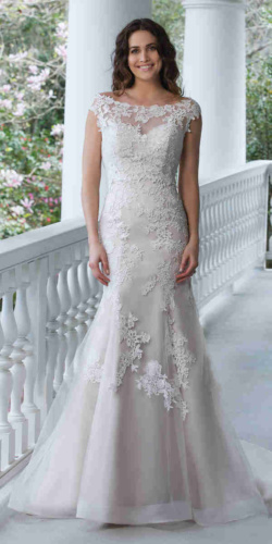 60 - Sincerity Bridal 3942, 180cm, r36-38, 1700zł, be trenu